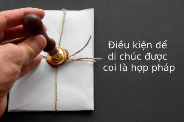 Dieu Kien De Di Chuc Duoc Coi La Hop Phap