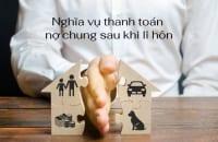 Nghia Vu Thanh Toan No Chung Sau Khi Ly Hon