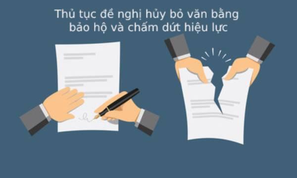 Thu Tuc De Nghi Huy Bo Van Bang Bao Ho Va Cham Dut Hieu Luc