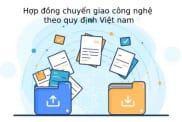 Hop Dong Chuyen Giao Cong Nghe Theo Quy Dinh Viet Nam