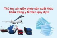 Thu Tuc Xin Giay Phep San Xuat Khau Khau Trang Y Te Theo Quy Dinh