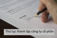 Thu Tuc Thanh Lap Ctcp