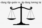 Ap Dung Tap Quan Ap Dung Tuong Tu Phap Luat