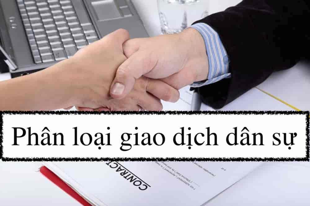 Phan Loai Giao Dich Dan Su