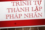 Trinh Tu Thanh Lap Phap Nhan