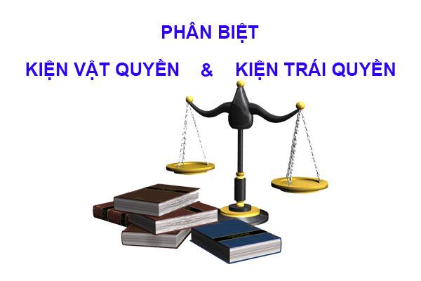 Phan Biet Kien Vat Quyen Va Kien Trai Quyen Theo Phap Luat Dan Su Viet Nam