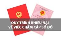 Quy Trinh Khieu Nai Ve Viec Cham Cap So Do