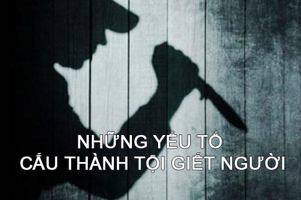 Nhung Yeu To Cau Thanh Toi Giet Nguoi