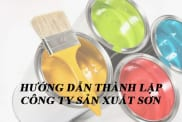 Huong Dan Thanh Lap Cong Ty Son Theo Quy Dinh Phap Luat